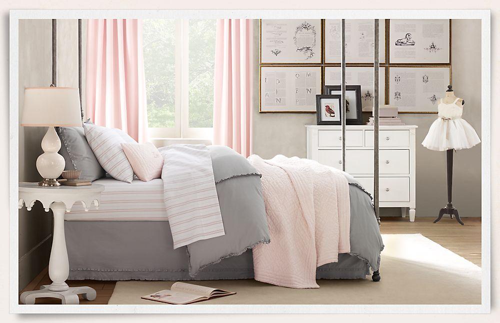 Pink Themed Kids Bedroom