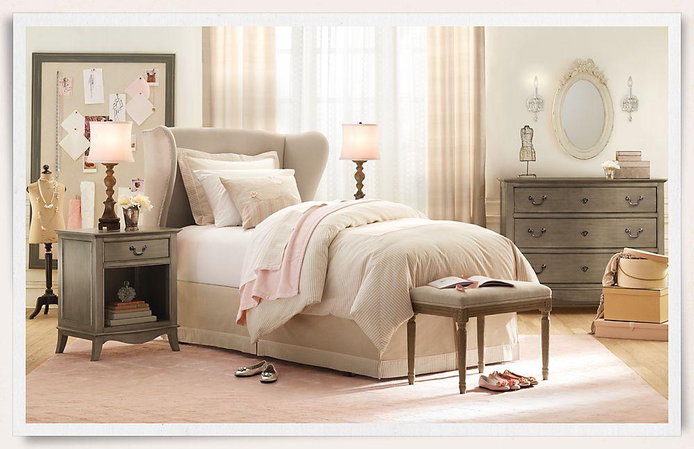 Specially designed bedroom for girls