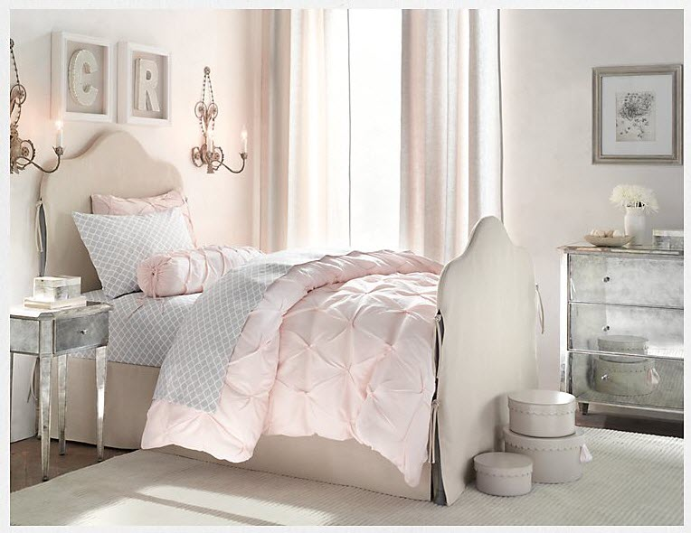 pink bedroom for kids