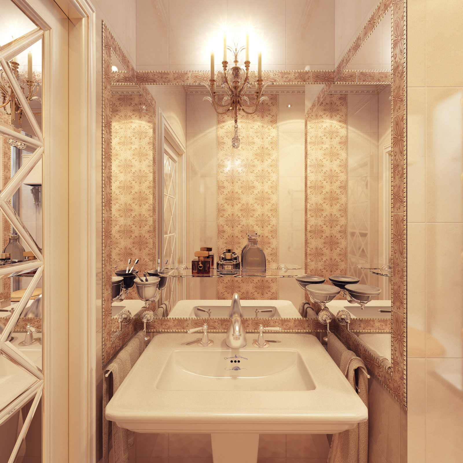 Bathroom designed to compliment your room