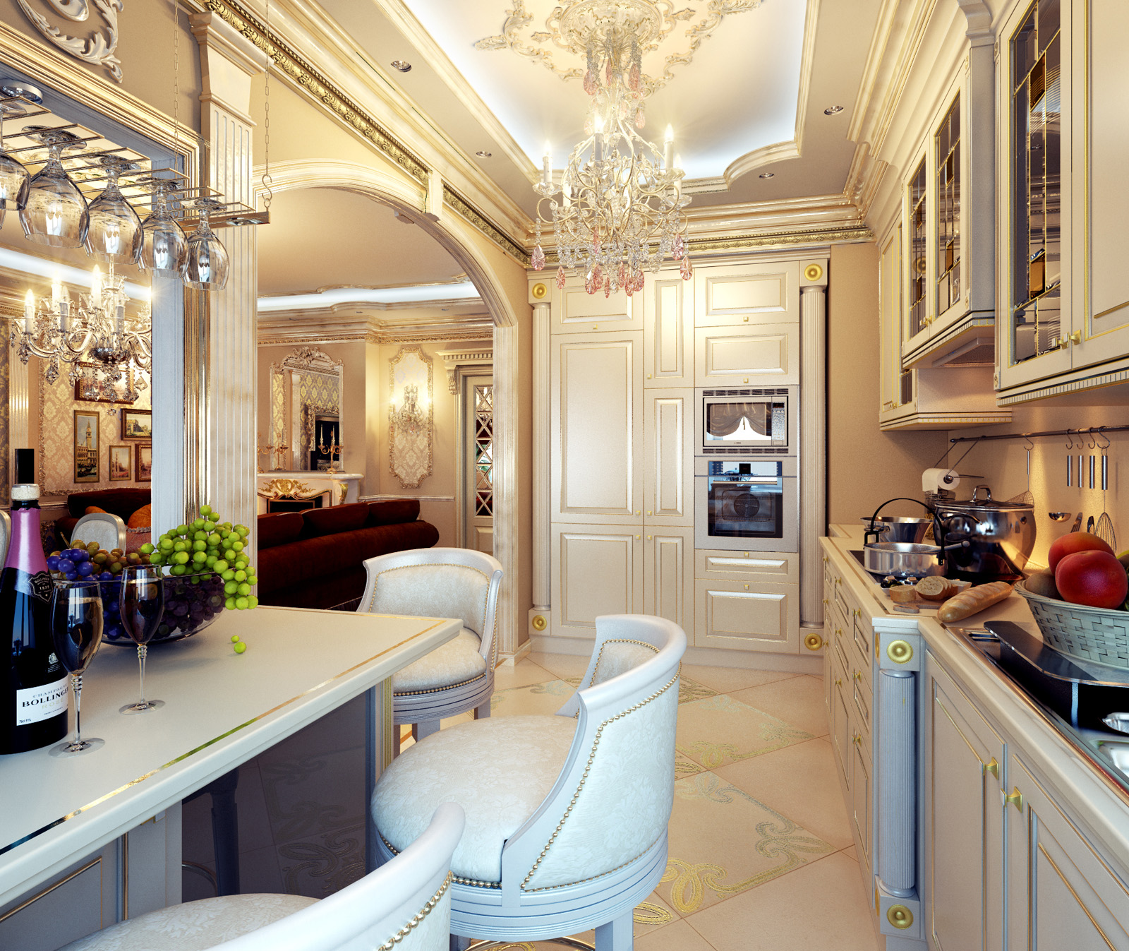 Royal Kitchen Design: Royal Home Designs !