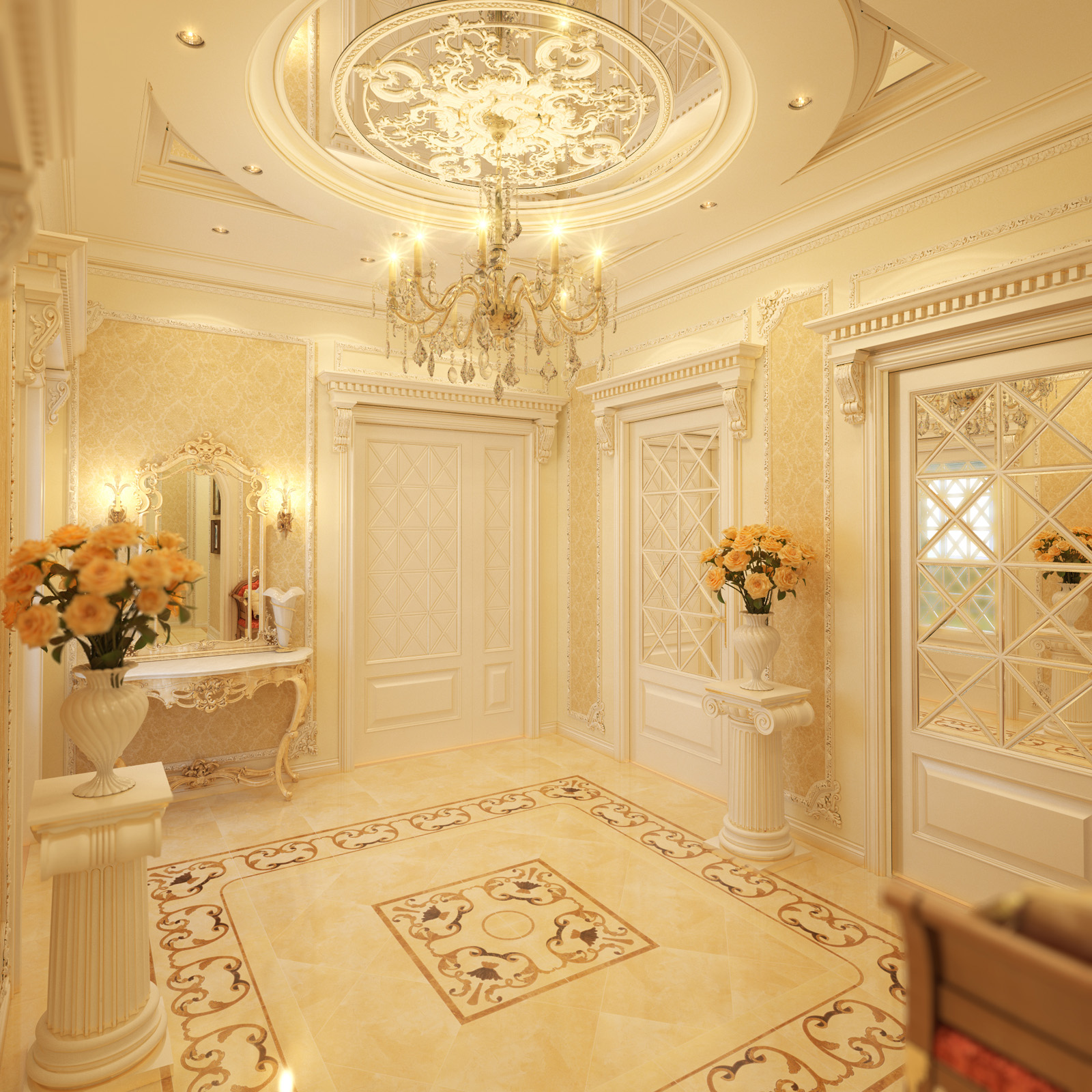 Royal home designs home designing for Design of decoration
