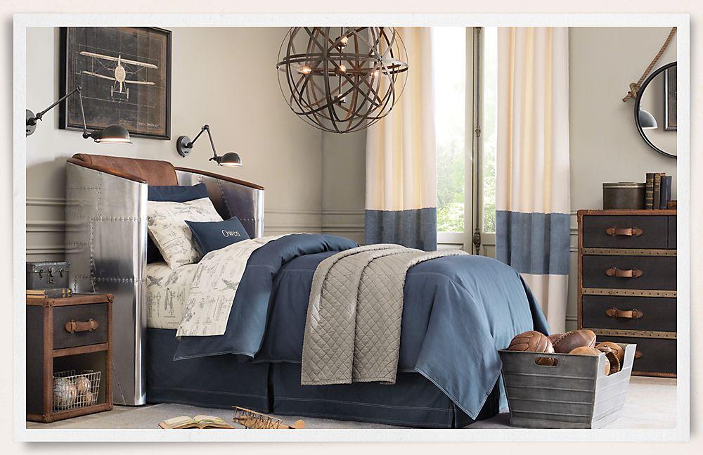 Modern themed bedroom for kids