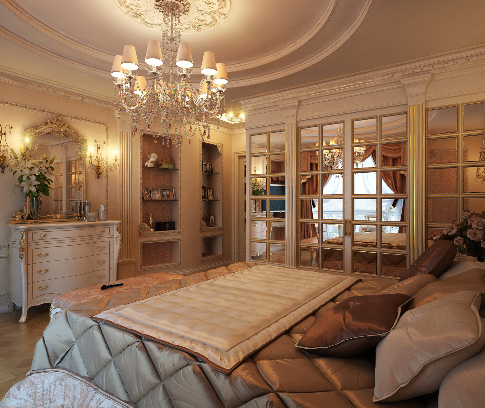 Royal touch In Bedroom