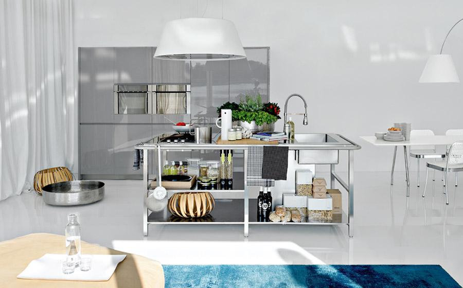 Steel Designs in Modern kitchens