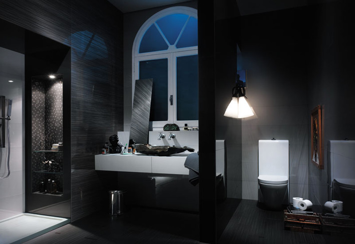 Dark Bathroom designs to mke it different