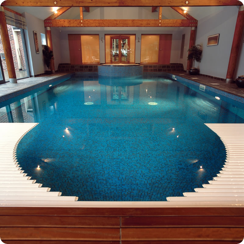 Indoor swimming pool design idea