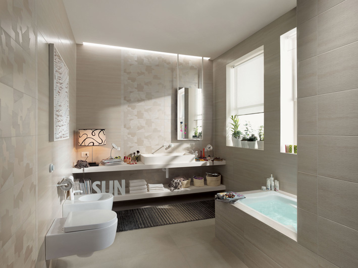 Light colors in Bathroom designs