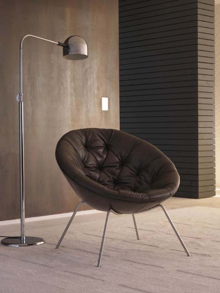 Nest shape chair