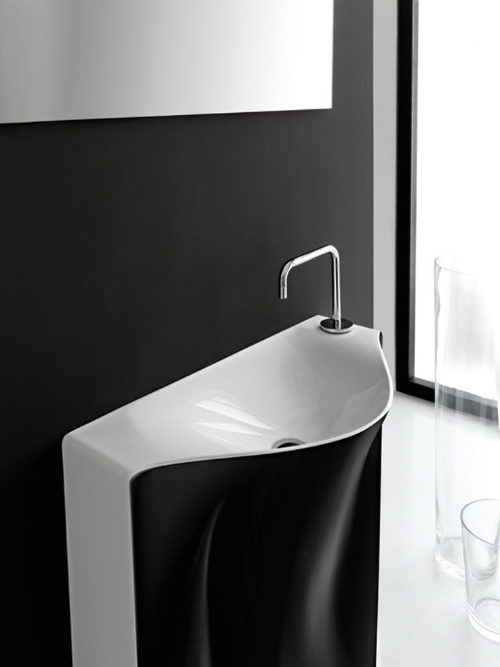 Sleek wash basin design