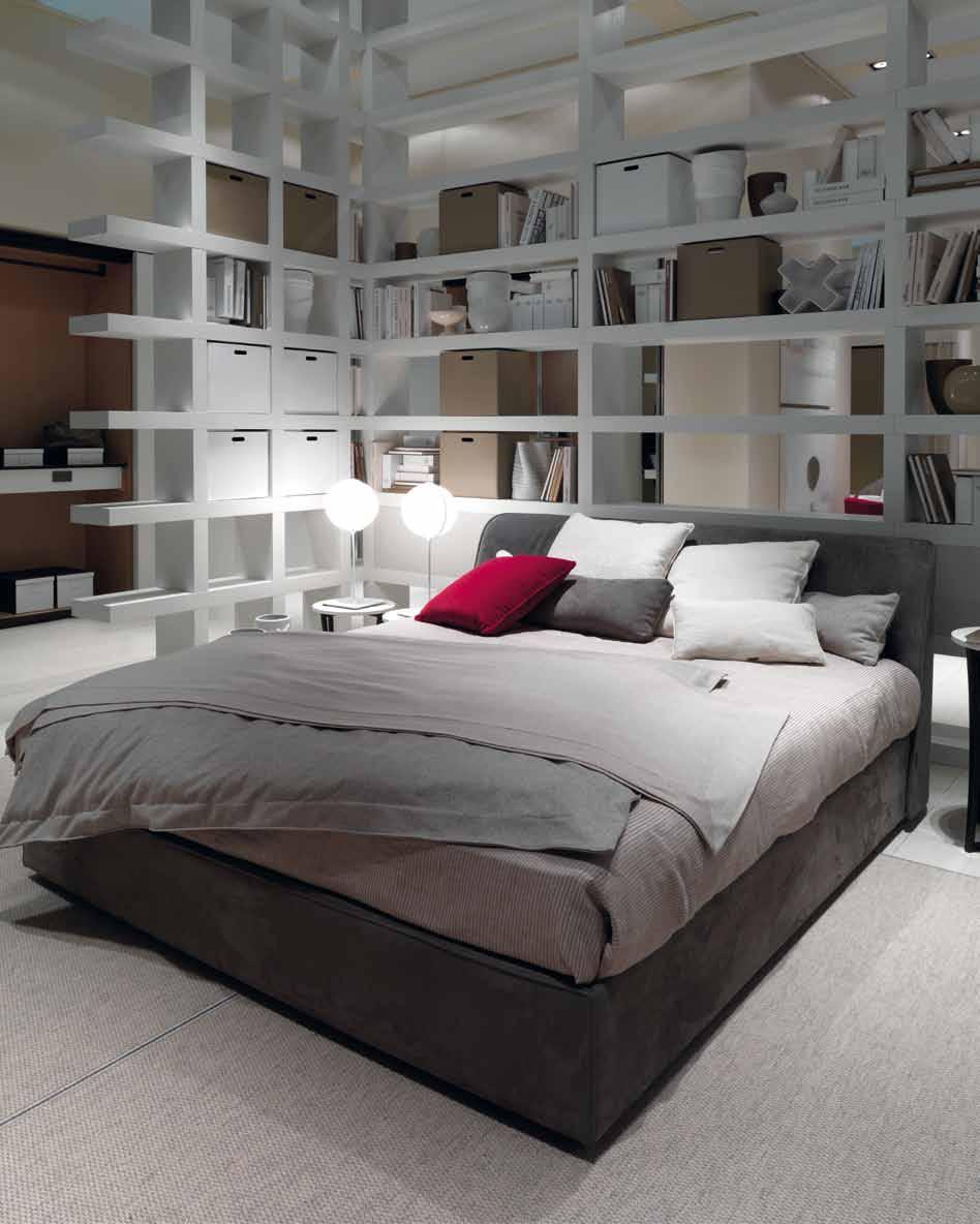 White Bookshelf for bedroom