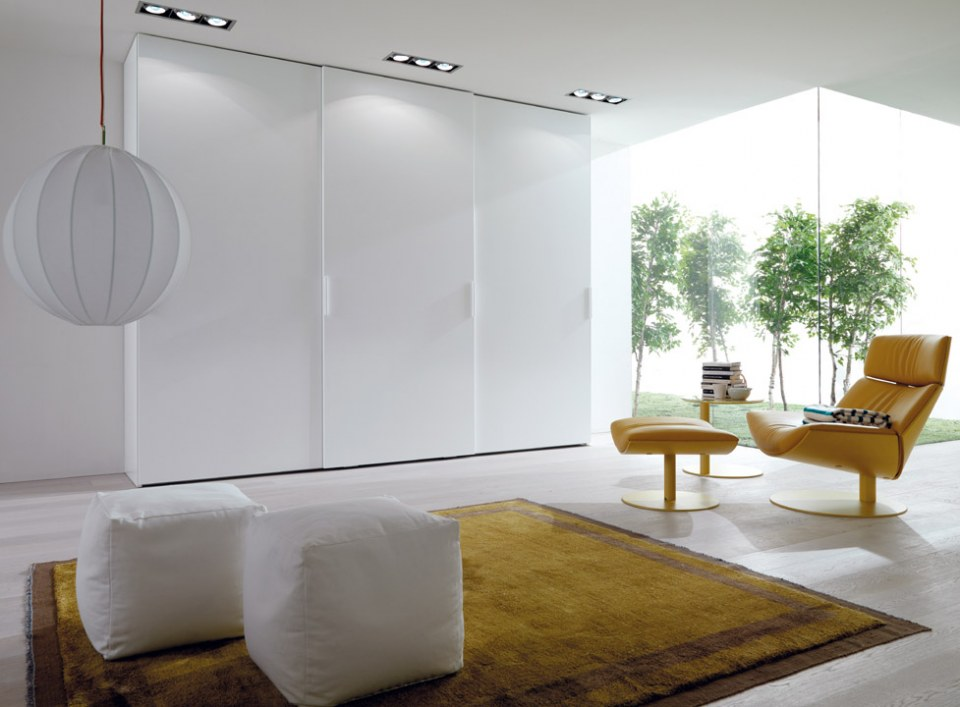 White color gallery wardrobe