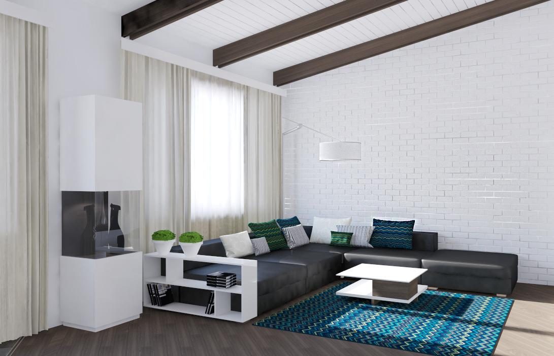 living room with black sofa ideas | Centerfieldbar.com