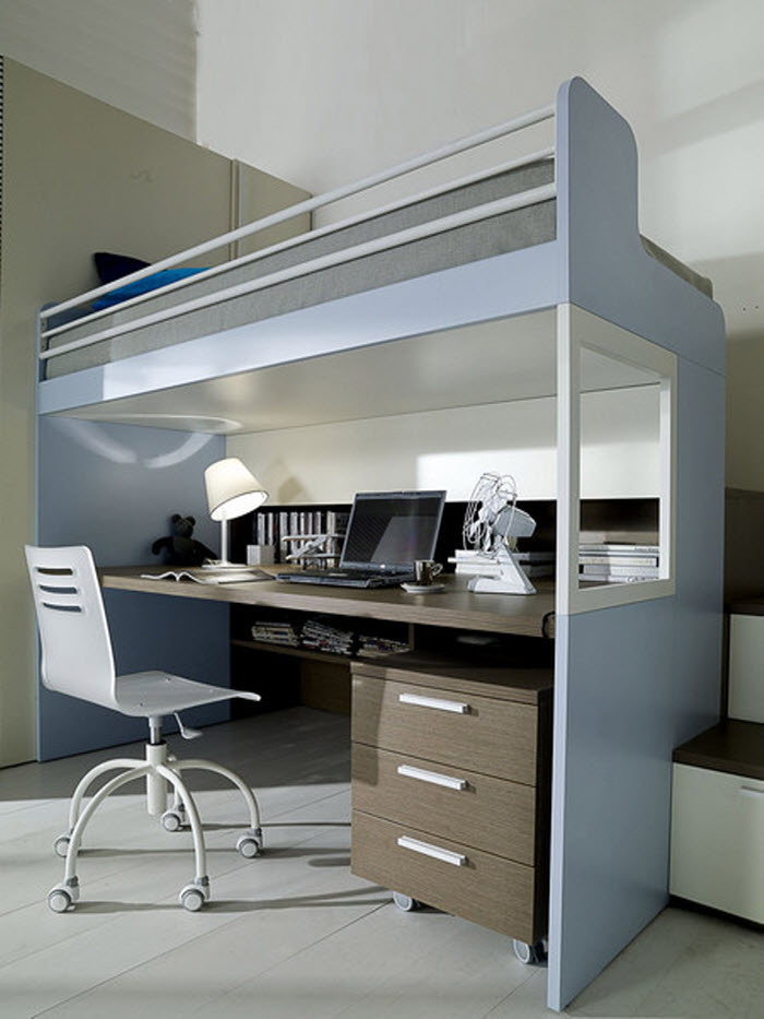 Workspace design for small places