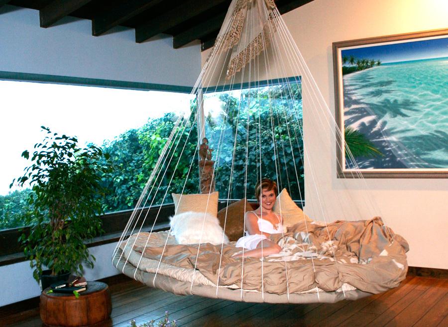 Floating Bed in LivingRoom