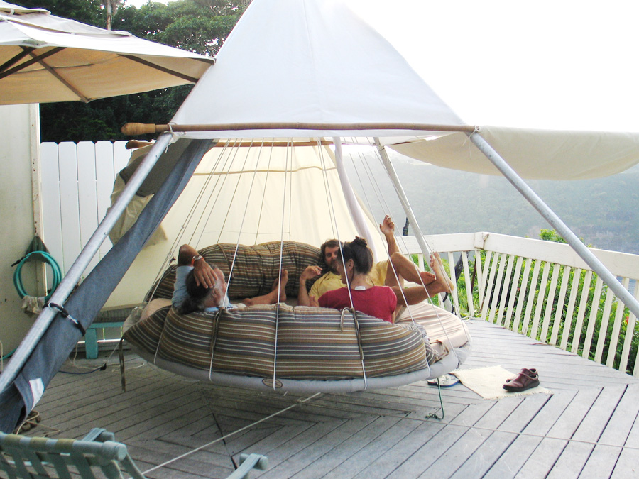 Outdoor Floating Bed floating bedsjohn huff | home designing