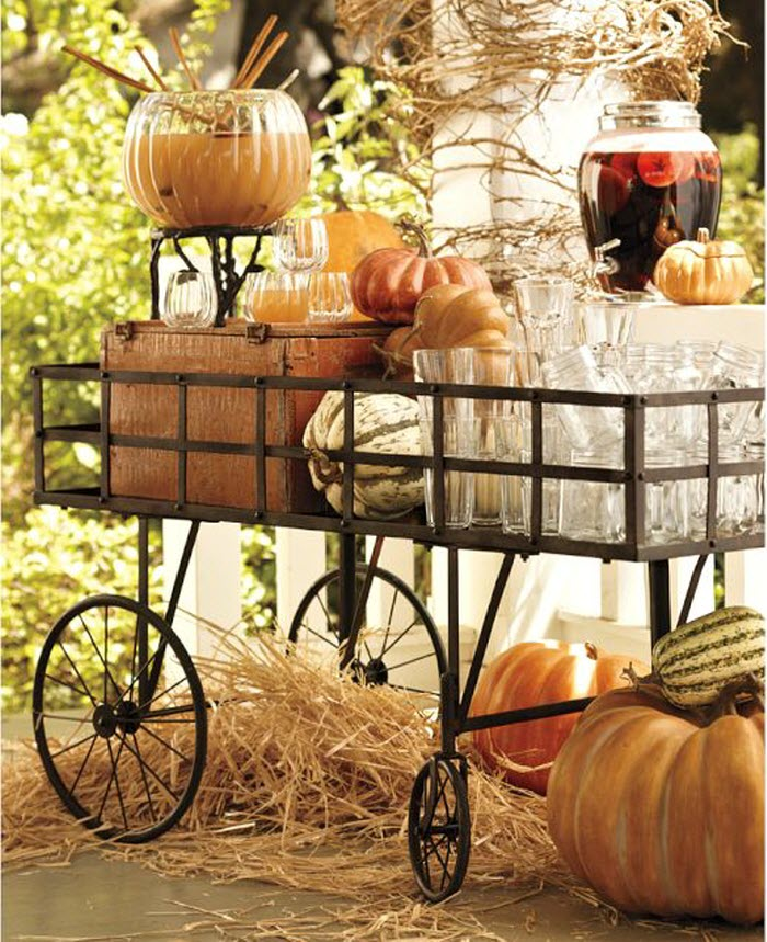 Halloween Juice kart decoration