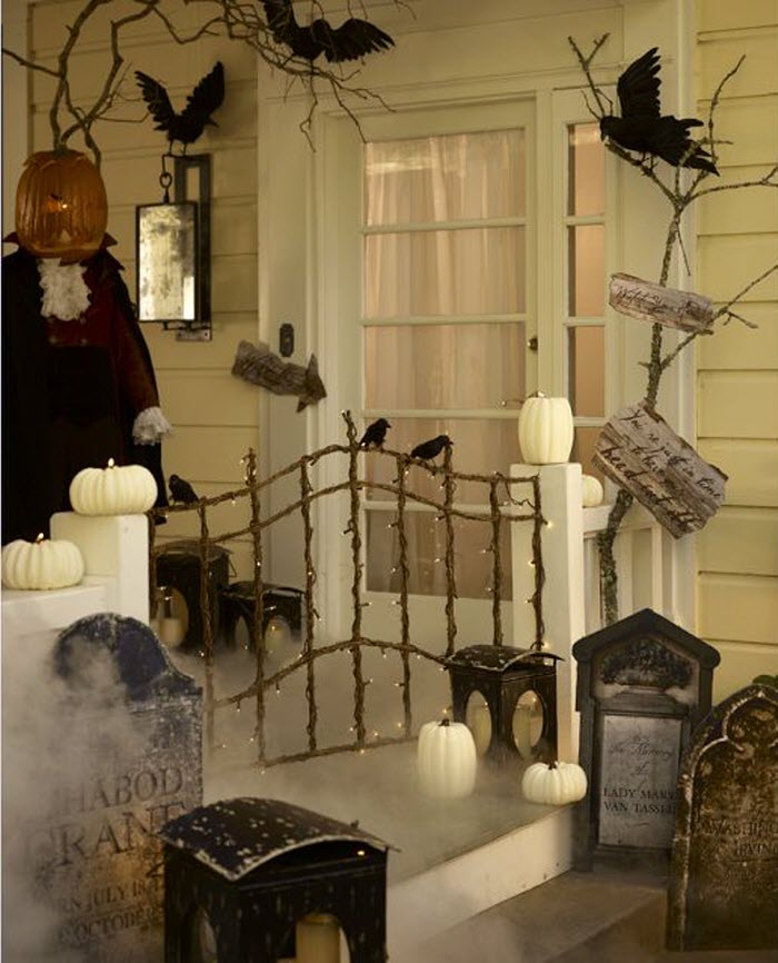Crazy halloween ideas home designing - Decoration maison halloween ...