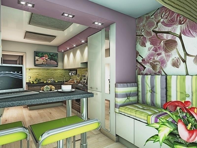 Multicolor wall designs