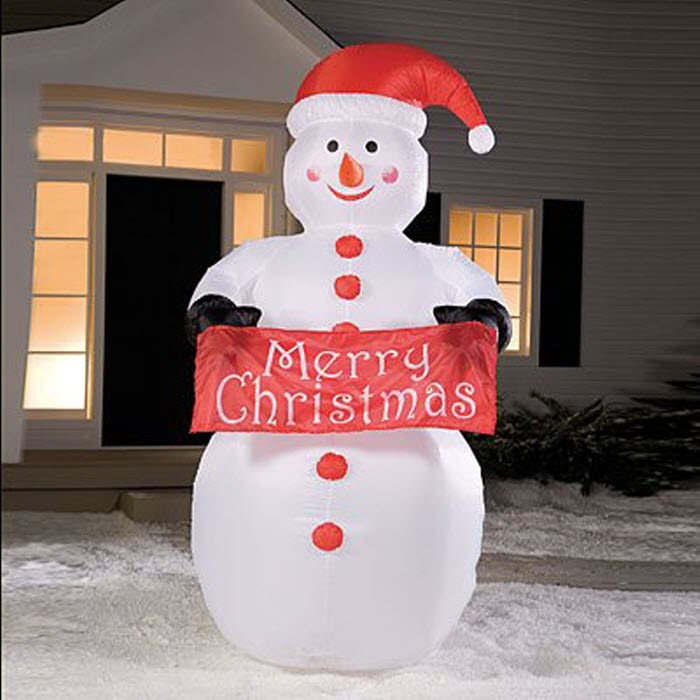 Airblown Inflatable Snowman Lighted Christams Decoration