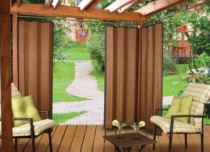 Bamboo Ring Top Curtain