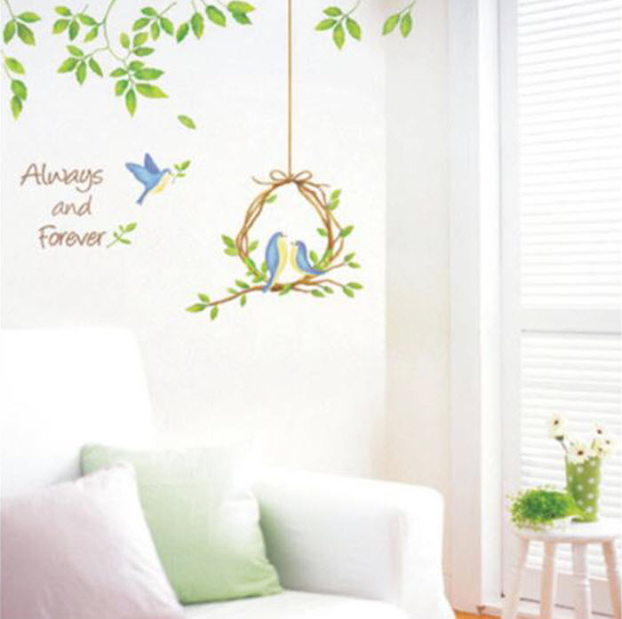 Birds Wall paper decoration