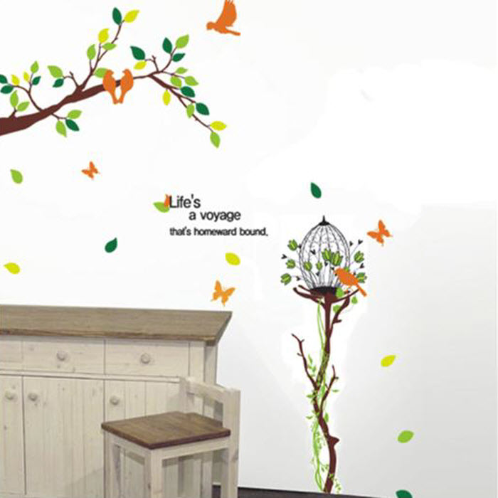 Branches Wall Decoration Sticker