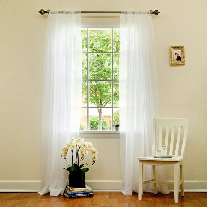 Classic White curtain Design