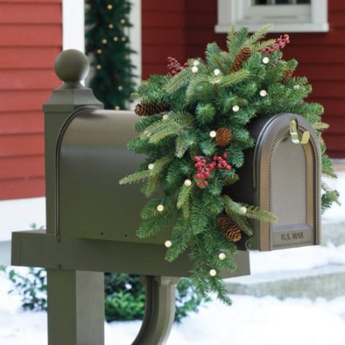 Cordless LED Mailbox Decoration
