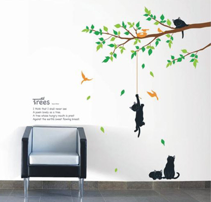 Decals wall stickers