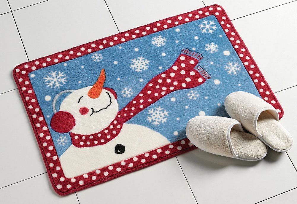 Frosty Bath Rug Christmas Special