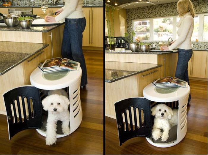 Modern Dog Kennel Idea