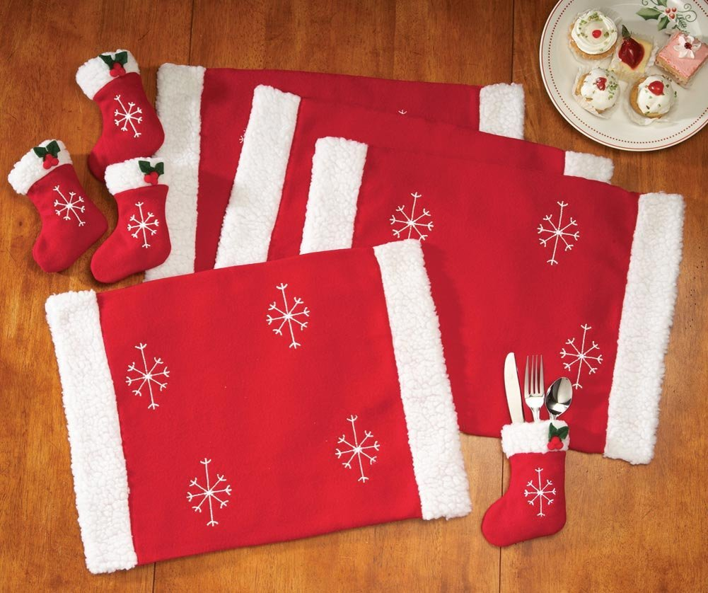 Placemat and Silware ware For Christmas