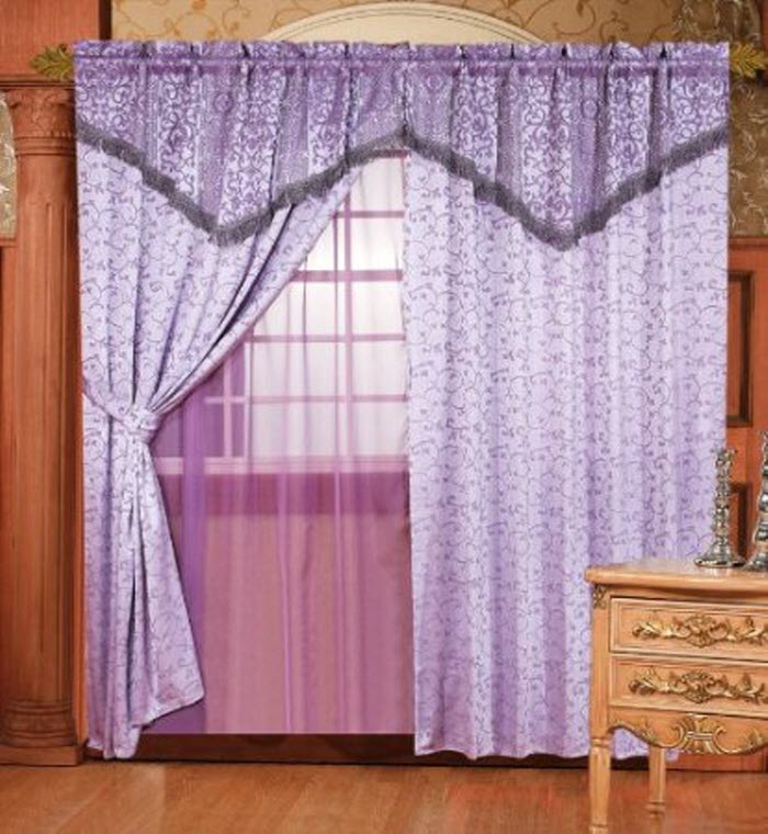 Purple color Mantle