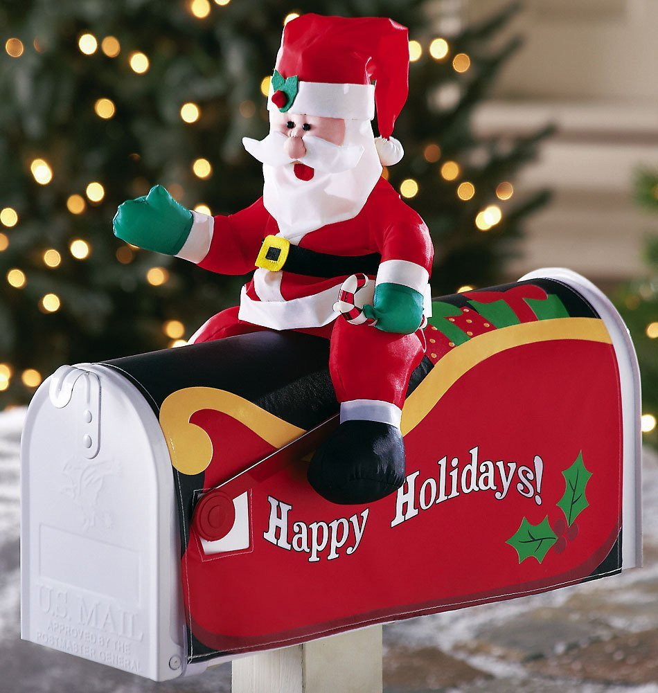 Christmas Decoration For Mailboxes : Attractive christmas home decoratives designing