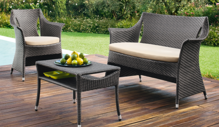 Brown Outdoor Sofa set