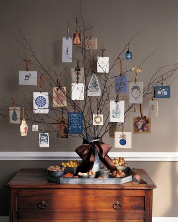 Christmas Card Display Tree