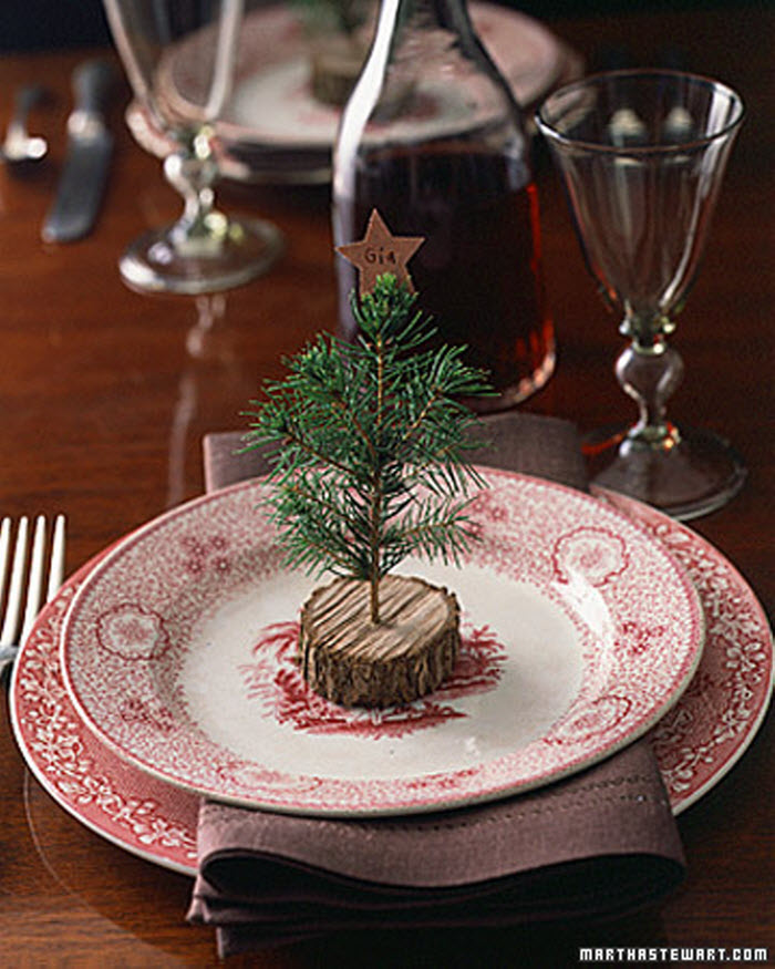 Christmas Tree Decoration on table