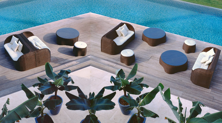 Coconut Outdoor Table and Chairs
