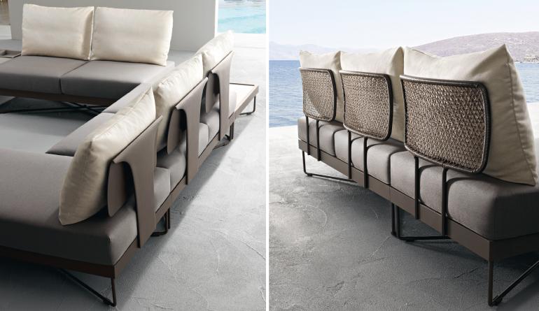 Designer BackSupport Sofa's