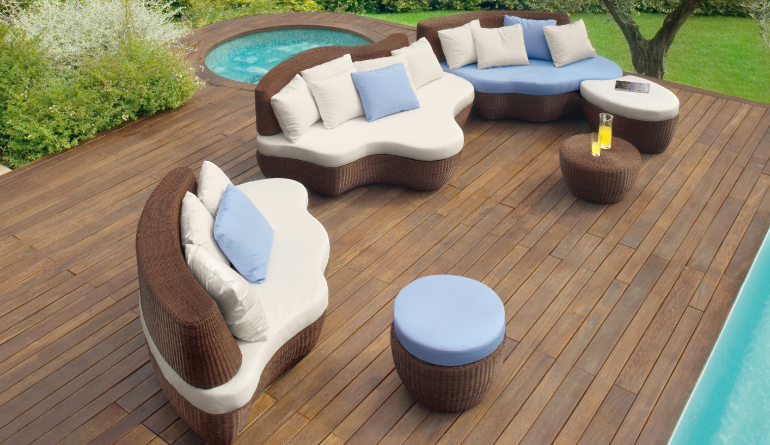 Designer Outer Sitting Area