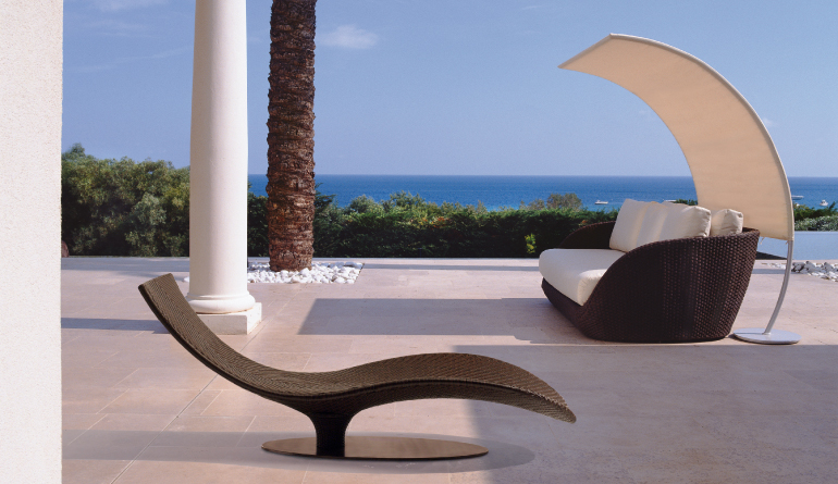 designer sofa swimming pool chair