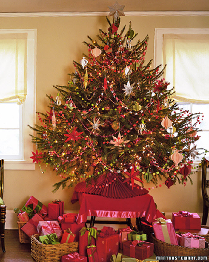 decorative christmas tree ideas home designing. Black Bedroom Furniture Sets. Home Design Ideas