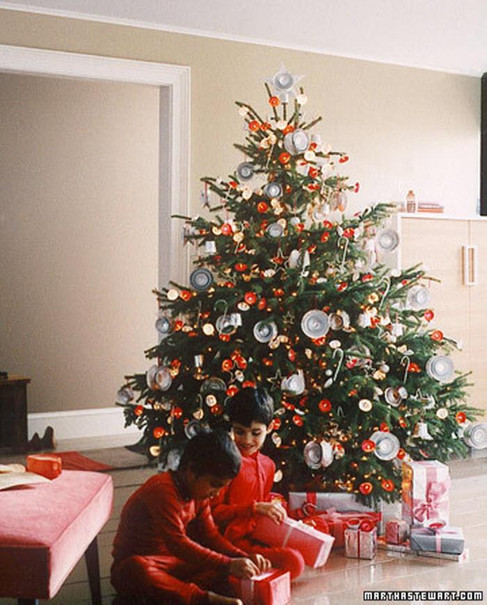 Foil Christmas Tree Decoration