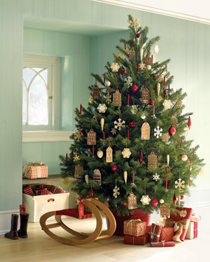 Decorative Christmas Tree Ideas | Home Designing