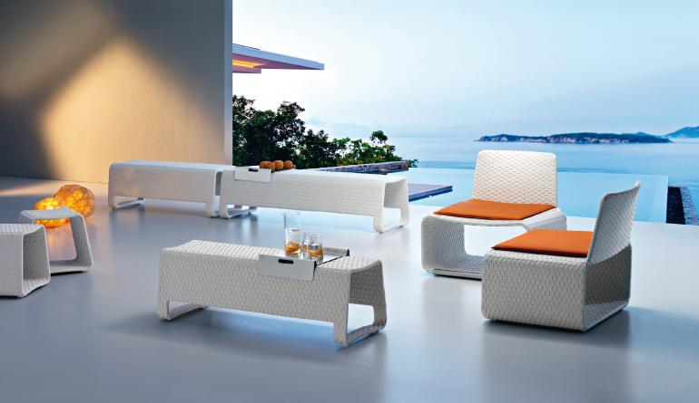 Matt Themed White Furniture