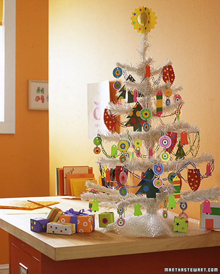 Office Supply Christmas Tree Decor