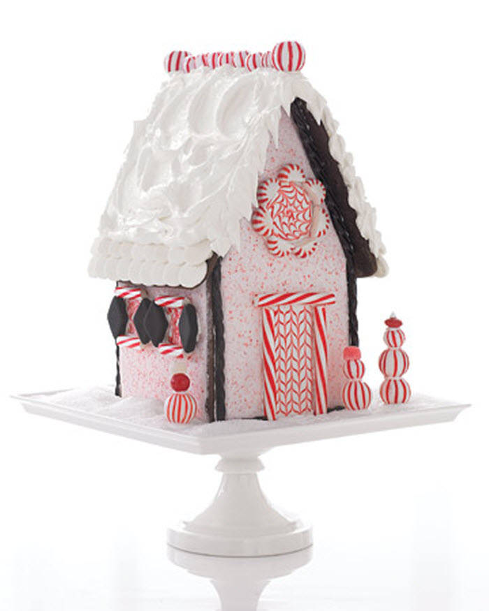Peppermint House for Christmas