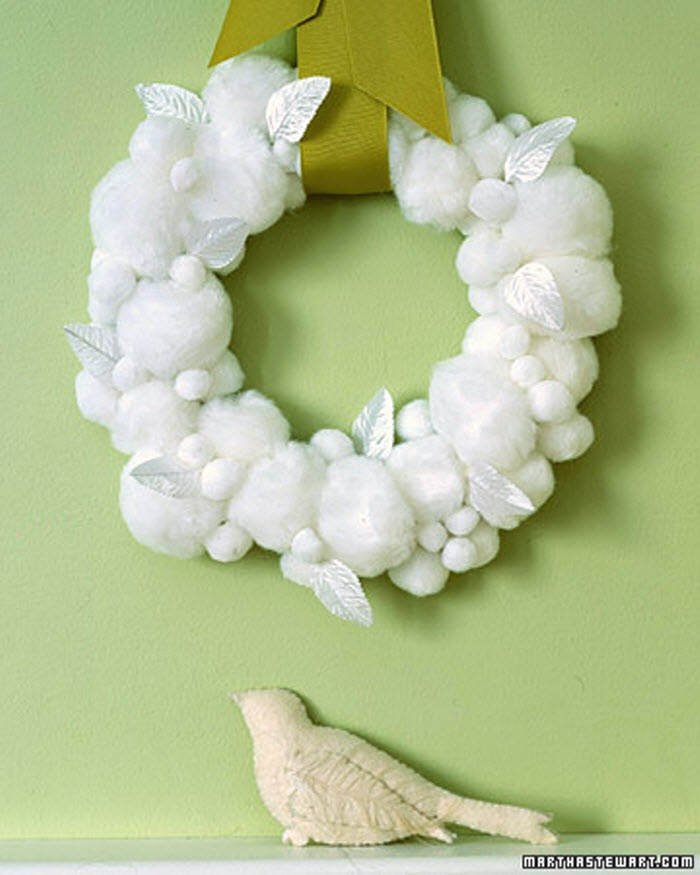 Snowball Wreath