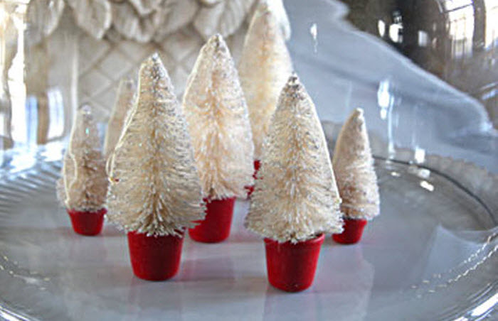 Tiny Forest Decoration For Christmas